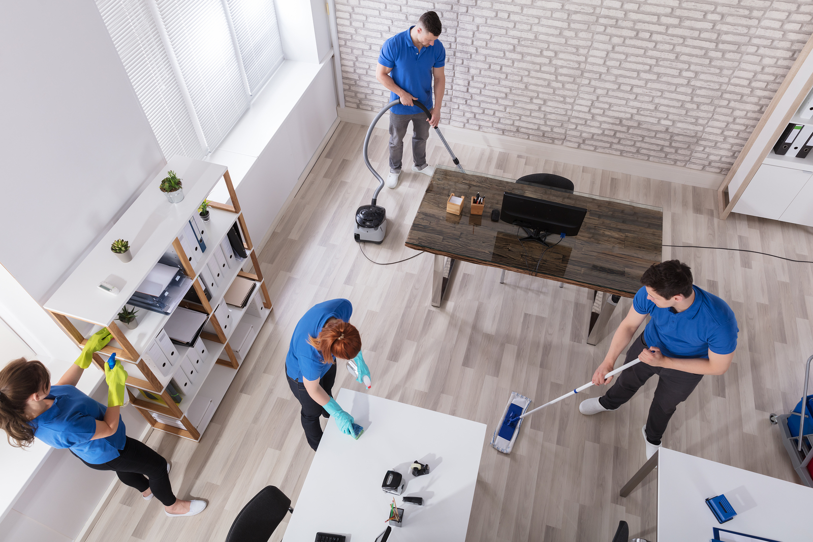 Why Hire A Professional Service To Clean Your Commercial Property?